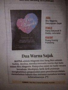 Info Buku Baru (Jawa Pos. Minggu, 14 Juni 2015)